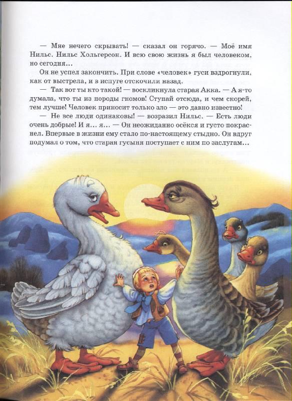 Иллюстрация 1 из 9 для Сказочное путешествие Нильса с дикими гусями - Лагерлеф Сельма Оттилия Лувиса   Лабиринт - книги. Источник: РИВА