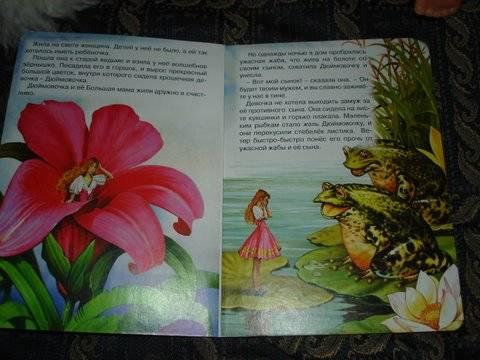 Иллюстрация 1 из 2 для Дюймовочка - Ханс Андерсен | Лабиринт - книги. Источник: Lutik_sun