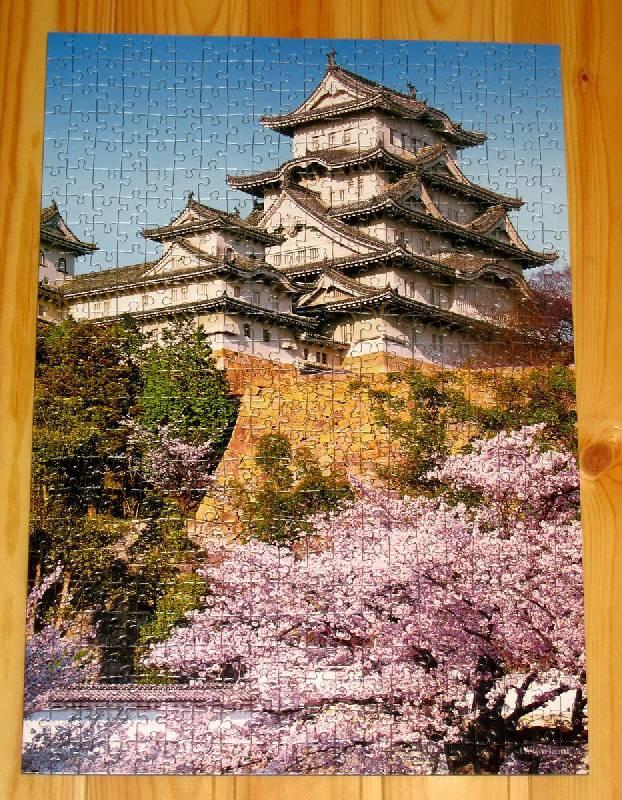 Иллюстрация 1 из 2 для Puzzle-500.В-50628.Пагода/Himeji Castle | Лабиринт - игрушки. Источник: Губяткин  Павел Владимирович