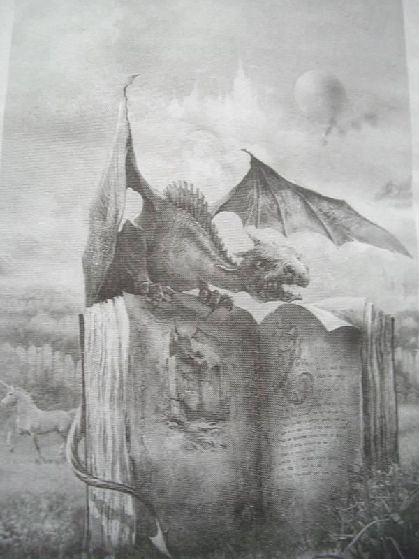 Иллюстрация 1 из 5 для Книга дракона: Фантастические произведения - Илья Новак | Лабиринт - книги. Источник: Zlevin