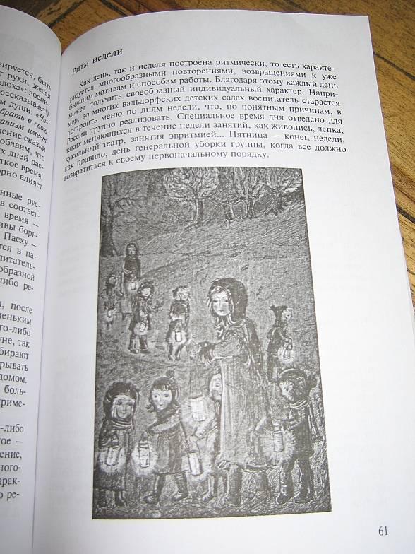 Иллюстрация 1 из 2 для Вальдорфский детский сад. В созвучии с природой ребенка - Владимир Загвоздкин   Лабиринт - книги. Источник: Bookworm