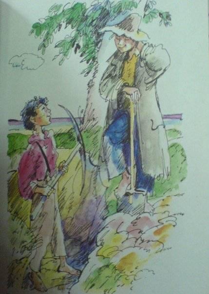 Иллюстрация 1 из 2 для Приключения Тома Сойера - Марк Твен   Лабиринт - книги. Источник: Sundance