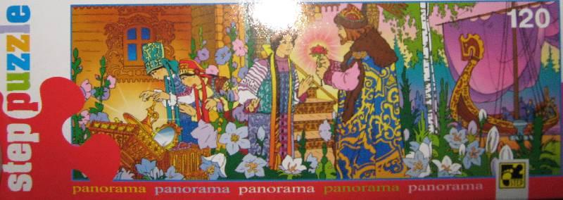 Иллюстрация 1 из 2 для Step Puzzle-120 75005 Панорама-5 (Аленький цветочек) | Лабиринт - игрушки. Источник: Спанч Боб