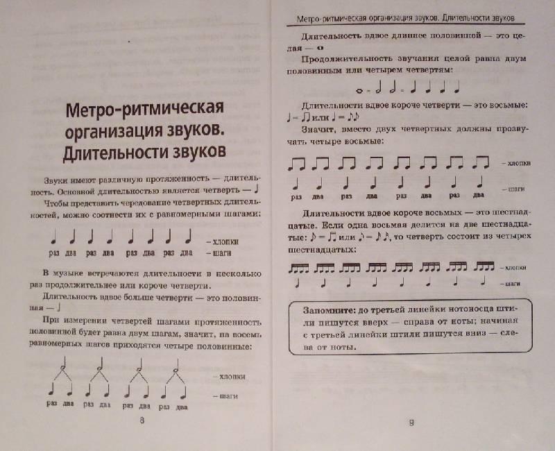 Иллюстрация 1 из 5 для Краткий курс элементарной теории музыки - Дамира Шайхутдинова | Лабиринт - книги. Источник: Пожарный
