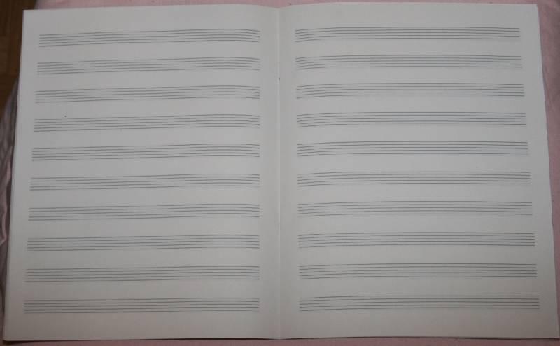 Иллюстрация 1 из 2 для Тетрадь для нот 16 листов: Рояль (Т160101) | Лабиринт - канцтовы. Источник: Котёнок по имени Гав