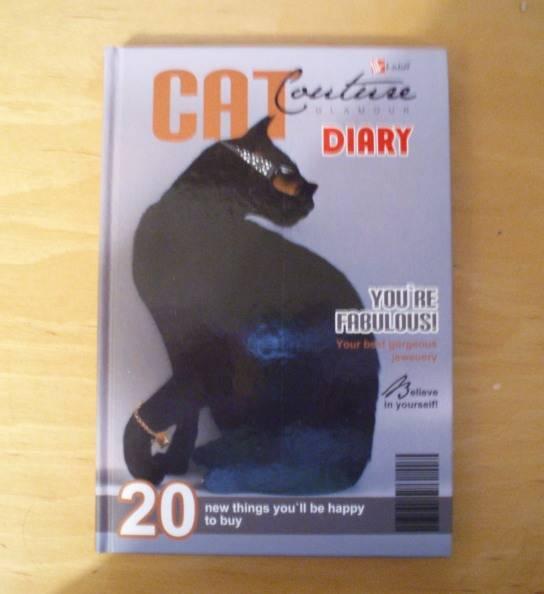 Иллюстрация 1 из 2 для Ежедневник ЕЖЛ8515207 Кошка от кутюр 2   Лабиринт - канцтовы. Источник: КsениЯ