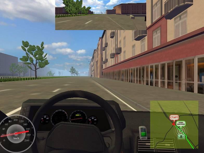 Иллюстрация 1 из 10 для Симулятор вождения. Виртуальный водитель. Профессиональная версия (DVDpc)   Лабиринт - софт. Источник: Спанч Боб