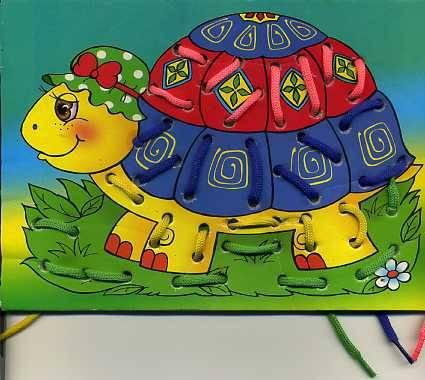 Иллюстрация 1 из 2 для Волшебство веревочек: Черепаха | Лабиринт - игрушки. Источник: Дианна