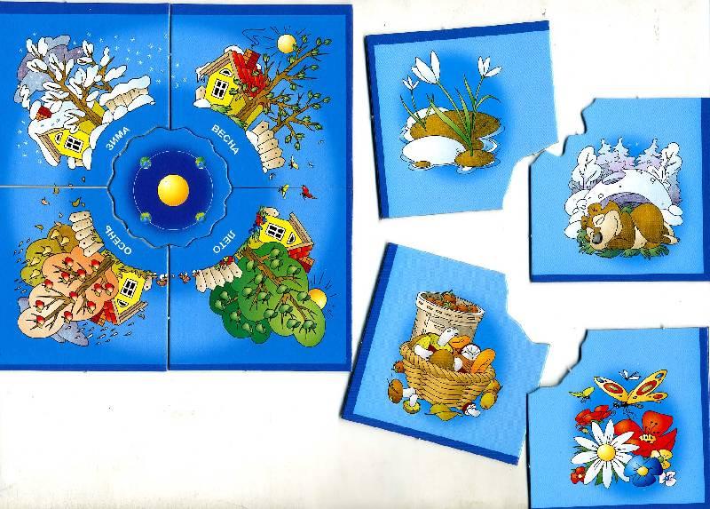 Иллюстрация 1 из 9 для Ассоциации: Времена года (5570) | Лабиринт - игрушки. Источник: РИВА