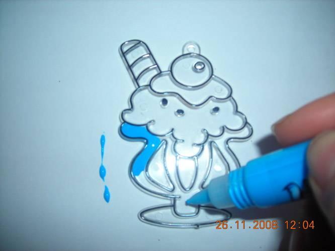 Иллюстрация 1 из 9 для Витраж малый: Мороженое | Лабиринт - игрушки. Источник: Плахова  Татьяна
