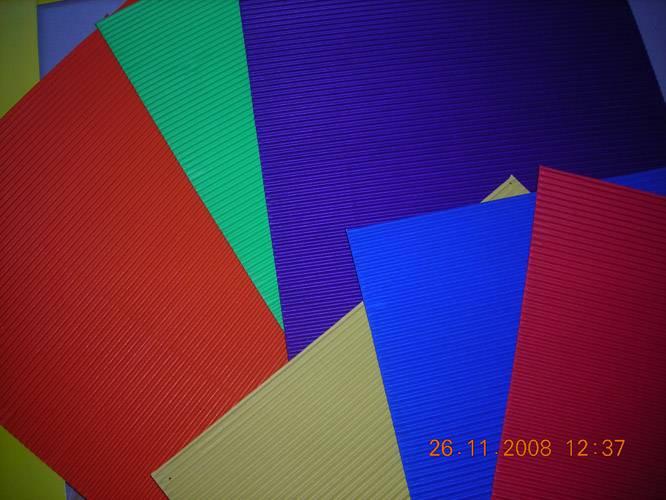 Иллюстрация 1 из 6 для Набор цветного гофрокартона 6л/6цв. НДТ-006   Лабиринт - канцтовы. Источник: Плахова  Татьяна