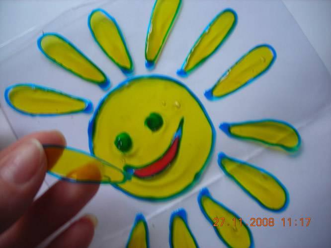 Иллюстрация 1 из 16 для Краска для витража (цвет в ассортименте) 10 г. (WP-10, 5D-60) | Лабиринт - игрушки. Источник: Плахова  Татьяна