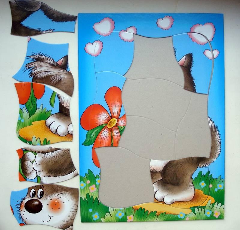 Иллюстрация 1 из 4 для Развивающие рамки. Волчонок | Лабиринт - игрушки. Источник: Бривух