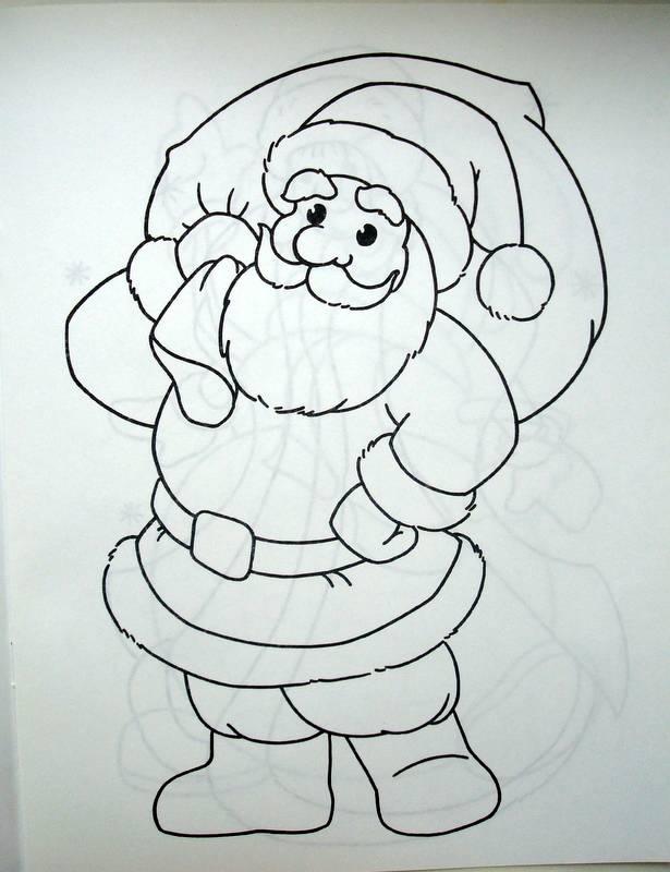 Иллюстрация 1 из 10 для Кроха-художник. Дед Мороз и его друзья. Раскраска | Лабиринт - книги. Источник: Бривух
