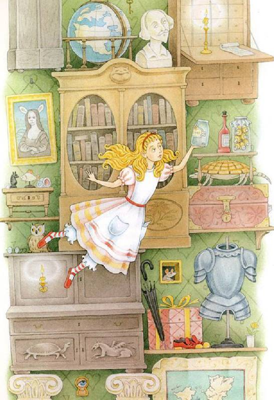 Иллюстрация 1 из 10 для Алиса в волшебной стране - Льюис Кэрролл | Лабиринт - книги. Источник: Кнопа2