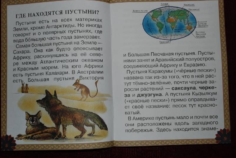 Иллюстрация 1 из 26 для Животный мир пустыни - Екатерина Мурашова | Лабиринт - книги. Источник: Lared