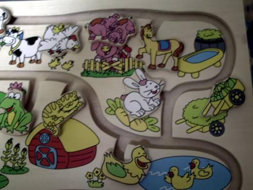 Иллюстрация 1 из 4 для Игра 89102 Веселый лабиринт: Что к чему? | Лабиринт - игрушки. Источник: angelan