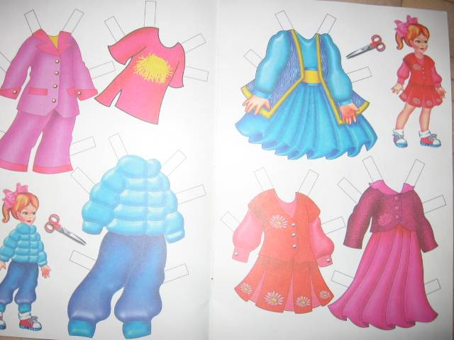 Иллюстрация 1 из 4 для Одень куклу: Оля | Лабиринт - игрушки. Источник: каун лариса сергеевна