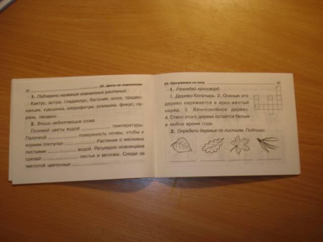 Иллюстрация 1 из 3 для Проверялочка: Окружающий мир 1 класс - Ольга Ушакова   Лабиринт - книги. Источник: soika