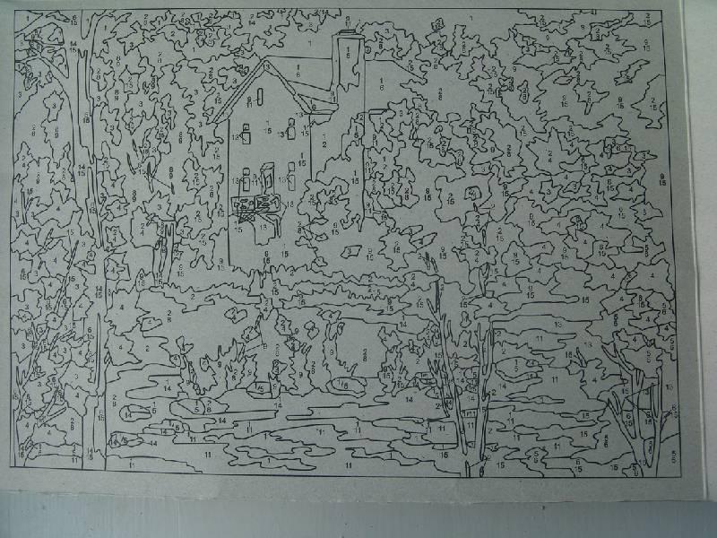 Иллюстрация 1 из 8 для Осенний пейзаж   Лабиринт - игрушки. Источник: Лаванда