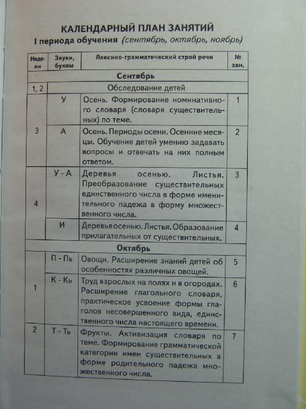 Иллюстрация 1 из 9 для Говорим правильно. Конспекты фронтальных занятий. 1 период обучения - Оксана Гомзяк   Лабиринт - книги. Источник: Лаванда