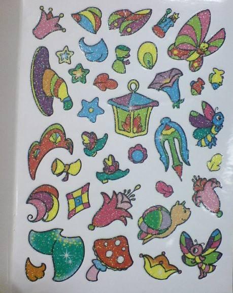 Иллюстрация 1 из 5 для Сверкающие наклейки. Птица | Лабиринт - книги. Источник: Настёна