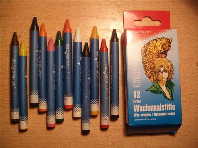 Иллюстрация 1 из 4 для Восковые мелки 12 цветов (881223) Anime | Лабиринт - канцтовы. Источник: света