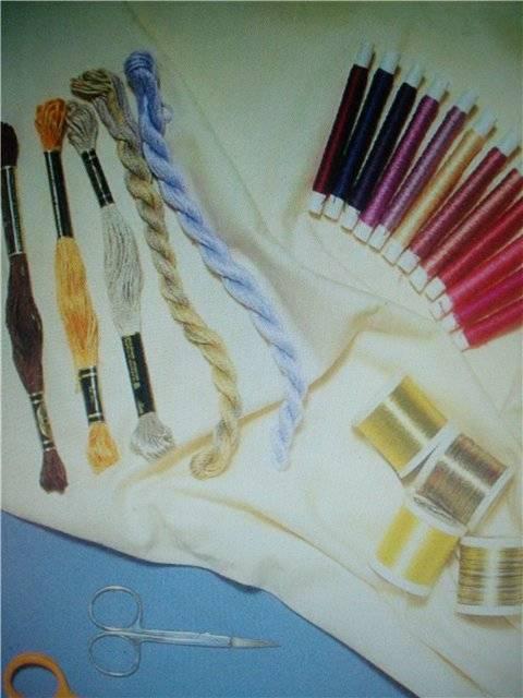 Иллюстрация 1 из 20 для Вышивка и плетение иглой - Кей Деннис | Лабиринт - книги. Источник: света