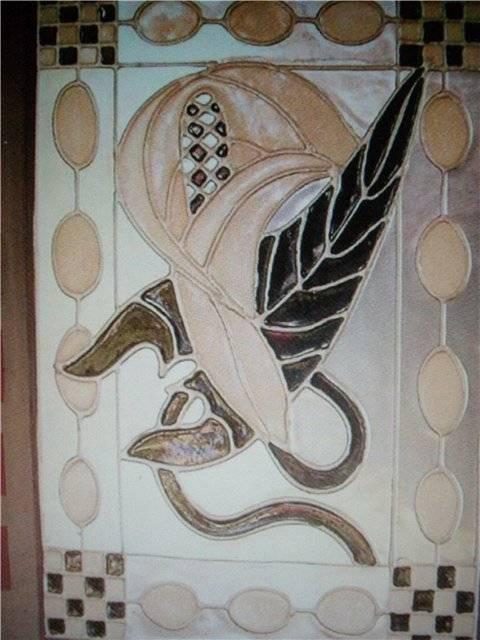 Иллюстрация 1 из 21 для Роспись по стеклу: 20 чудесных проектов в стиле модерн - Гир, Фристоун | Лабиринт - книги. Источник: света