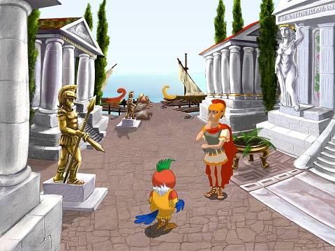 Иллюстрация 1 из 9 для Попугай Кеша: Время, назад! (DVDpc) | Лабиринт - софт. Источник: Ammari