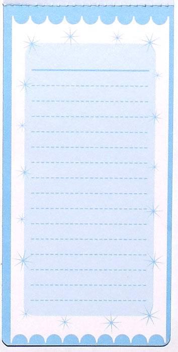 Иллюстрация 1 из 6 для Блокнот на магните (голубой) | Лабиринт - канцтовы. Источник: Кнопа2