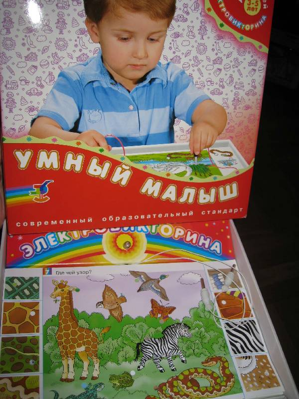 Иллюстрация 1 из 17 для Умный малыш: Электровикторина | Лабиринт - игрушки. Источник: MaryAn