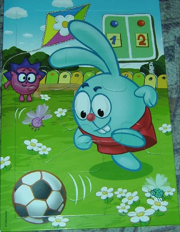 Иллюстрация 1 из 2 для Развивающая мозаика. Смешарики. Крош | Лабиринт - игрушки. Источник: Елена+