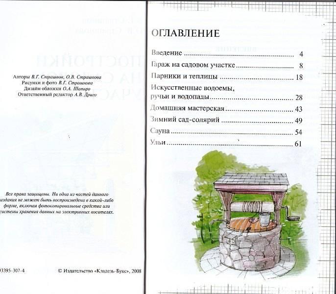 Иллюстрация 1 из 11 для Постройки на садовом участке - Страшнов, Страшнова   Лабиринт - книги. Источник: Савченко  Кристина Викторовна