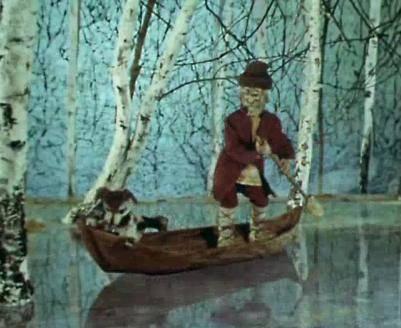 Иллюстрация 1 из 22 для Дед Мазай и зайцы (+ DVD) - Николай Некрасов   Лабиринт - книги. Источник: Galia