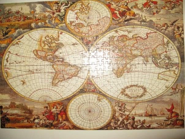 Иллюстрация 1 из 3 для Step Puzzle-560 78052 Историческая карта | Лабиринт - игрушки. Источник: Hoty