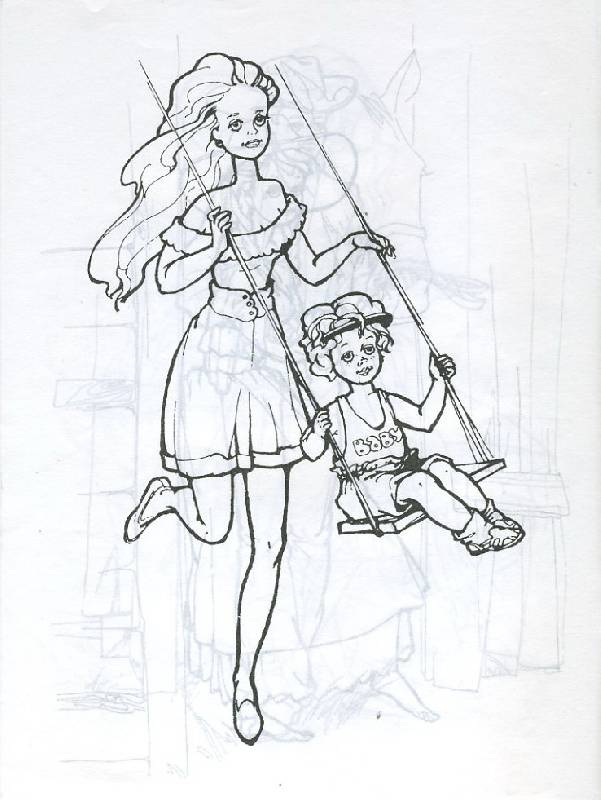 Иллюстрация 1 из 6 для Моя любимая кукла Катя | Лабиринт - книги. Источник: Pallada
