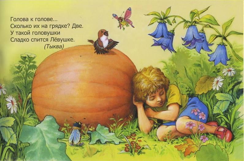 Иллюстрация 1 из 14 для Загадки с грядки - Бурдин, Кумча | Лабиринт - книги. Источник: Machaon