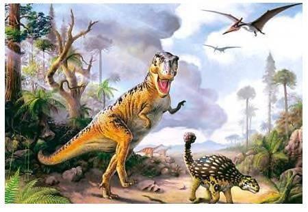 Иллюстрация 1 из 3 для Puzzle-500. Динозавры (В-51052) | Лабиринт - игрушки. Источник: Пчёлка Майя