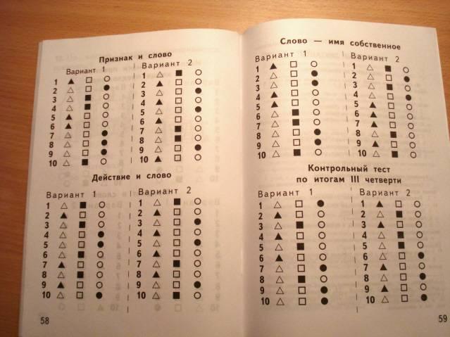 Решебник По Русскому Языку Тест Часть 1 6 Класс Ответы