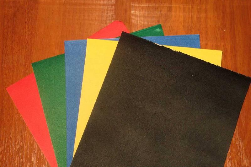 Иллюстрация 1 из 3 для Бумага цветная бархатная А4 5 листов 5 цветов (5Н262)   Лабиринт - канцтовы. Источник: ilamtel