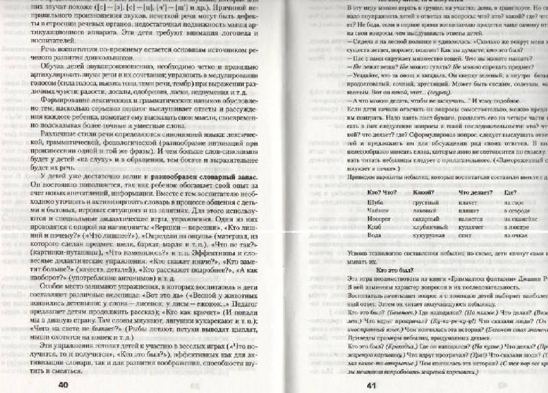 Иллюстрация 1 из 2 для Развитие речи в детском саду. Программа и методические рекомендации - Валентина Гербова | Лабиринт - книги. Источник: SVETLANKA