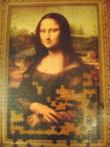 Иллюстрация 1 из 6 для Step Puzzle-1000 (79076) Мона Лиза   Лабиринт - игрушки. Источник: Hoty