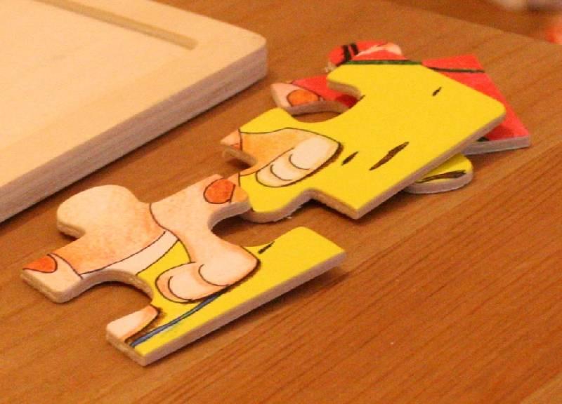 Иллюстрация 1 из 13 для Игра Мозаика из дерева (89701) | Лабиринт - игрушки. Источник: Котёнок по имени Гав