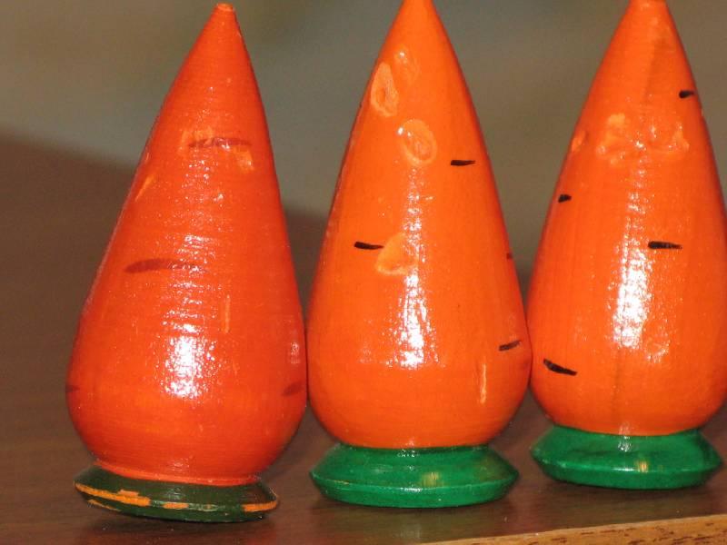 Иллюстрация 1 из 6 для Морковь Счетный материал (Д-365)   Лабиринт - игрушки. Источник: Слабоспицкая  Ольга Николаевна