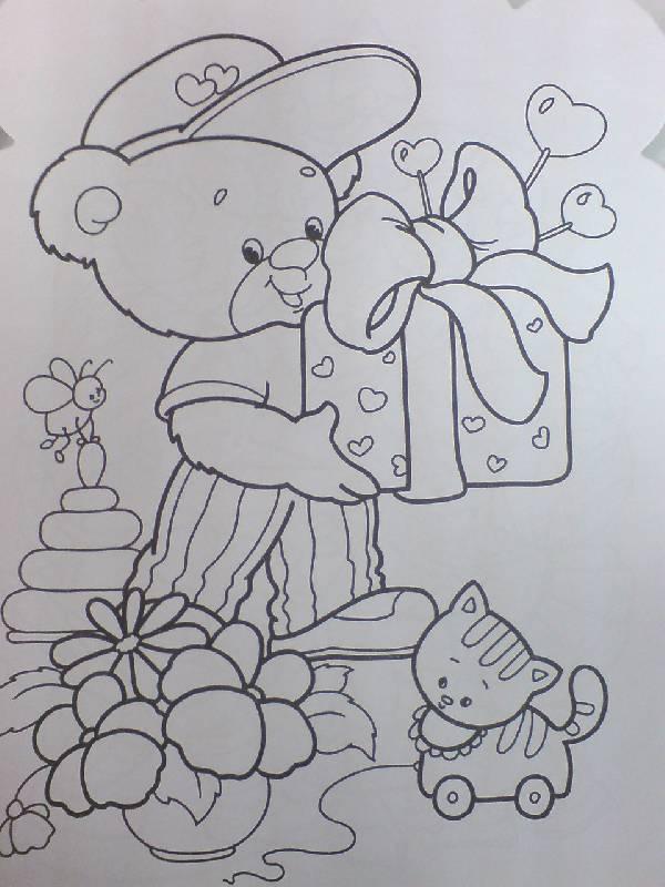 Иллюстрация 1 из 10 для Моя любимая праздничная раскраска | Лабиринт - книги. Источник: Настёна