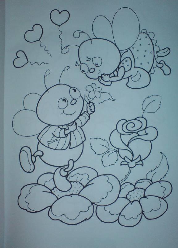 Иллюстрация 1 из 19 для Прозрачная раскраска. Разгляди и обведи (розовая) | Лабиринт - книги. Источник: Настёна