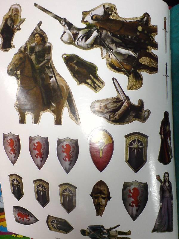 Иллюстрация 1 из 10 для Книжка с наклейками: Принц Каспиан   Лабиринт - книги. Источник: Настёна