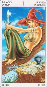 Иллюстрация 1 из 16 для Мини Таро Ведьм (руководство+карты) - Лаура Туан | Лабиринт - книги. Источник: Violanta
