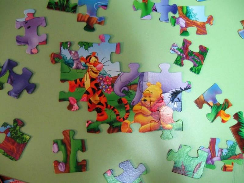 Иллюстрация 1 из 4 для Step Puzzle-35 91106 Винни Пух | Лабиринт - игрушки. Источник: Ирина Викторовна